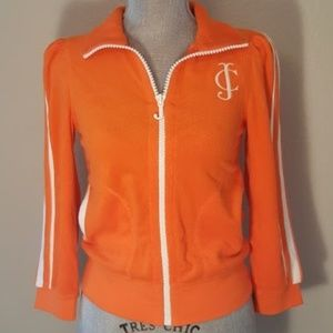 Juice Couture - Orange Terry Cloth Jacket